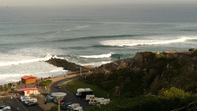 Surf report Anglet VVF - France (64) 2011-09-21 09:25:00