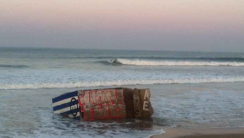 Surf report Grand Village - France (17) 2011-09-30 08:00:00