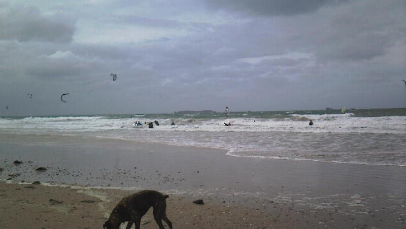 Surf report Saint-Malo - Le Sillon - France (35) 2011-10-06 15:30:00