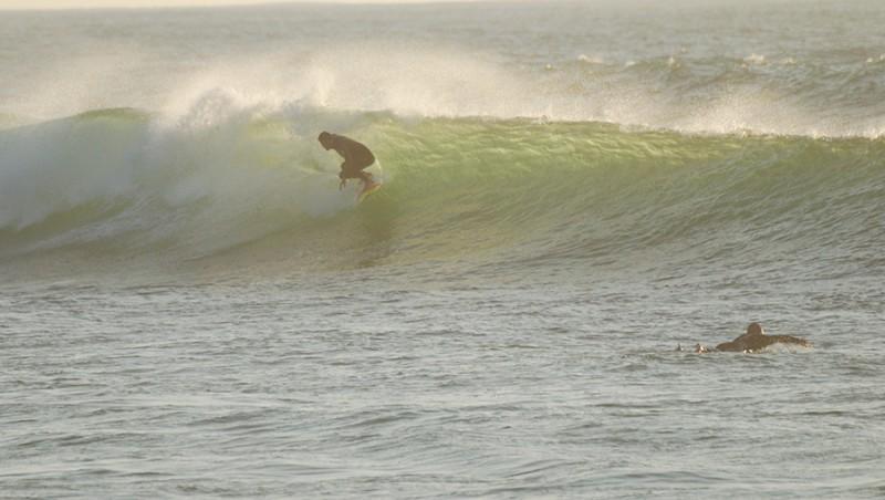 Surf report Biscarrosse Plage - France (40) 2011-10-11 18:30:00