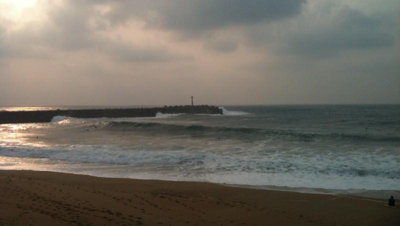 Surf report Anglet La Barre - France (64) 2011-10-18 17:58:00