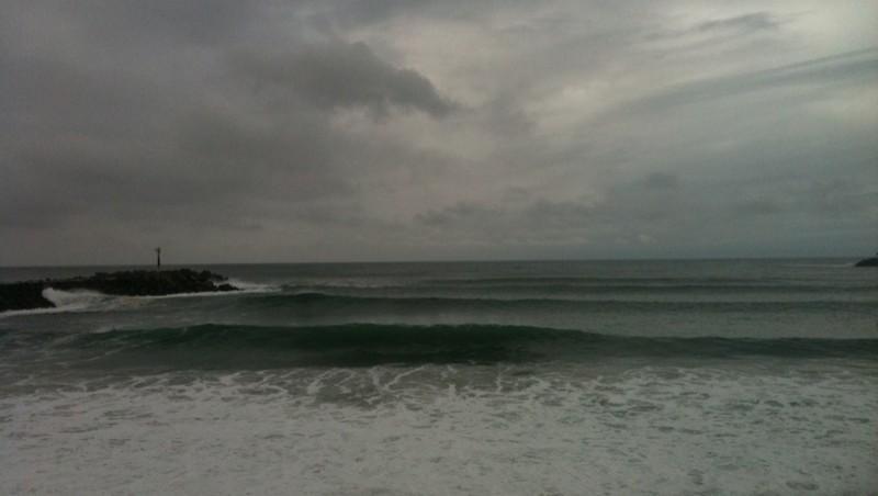 Surf report Anglet La Barre - France (64) 2011-10-19 12:47:00