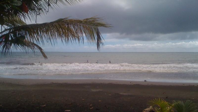 Surf report Bananier - Guadeloupe (GP) 2011-10-25 20:39:00