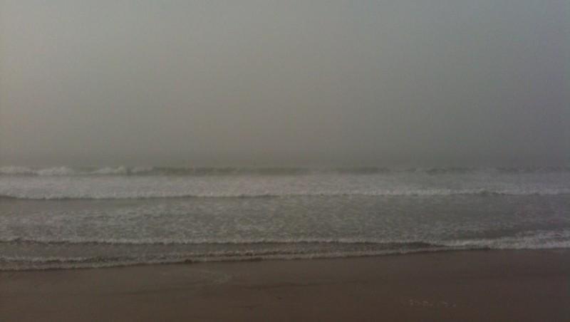 Surf report Les Sables-d'Olonne - Grande Plage - France (85) 2011-10-31 08:53:00