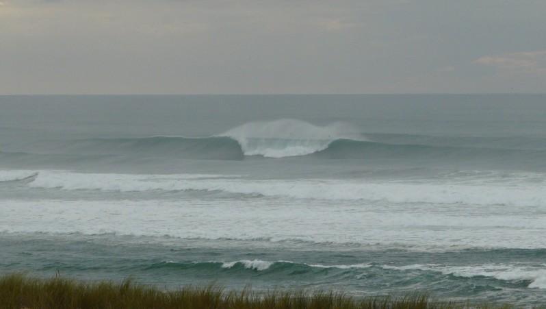 Surf report Mimizan - Plage Garluche - France (40) 2011-11-04 16:15:00