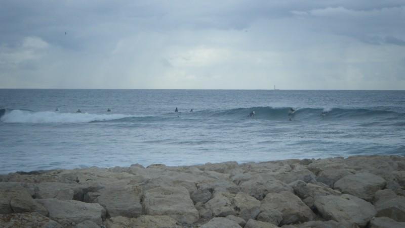 Surf report Sausset-les-Pins - L'Hermitage - France (13) 2011-11-06 14:00:00