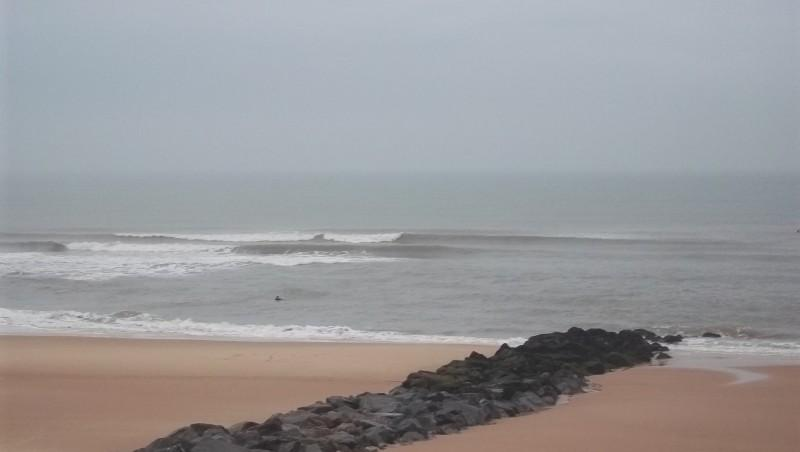 Surf report Lacanau Océan - La Nord - France (33) 2011-11-08 08:40:00
