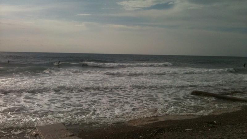 Surf report Sausset les Pins - Plage du Port - France (13) 2011-11-15 12:00:00