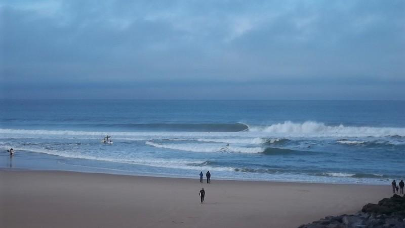 Surf report Lacanau Océan - La Nord - France (33) 2011-11-27 11:00:00