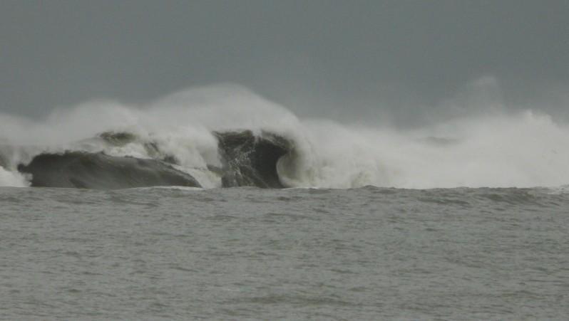 Surf report Sainte Barbe - France (64) 2011-12-14 15:30:00