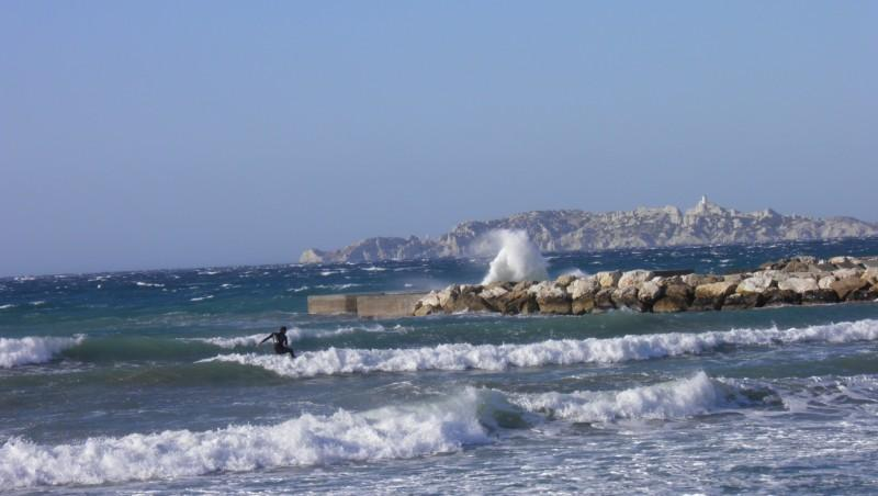 Surf report Le Prado - France (13) 2011-12-29 10:00:00