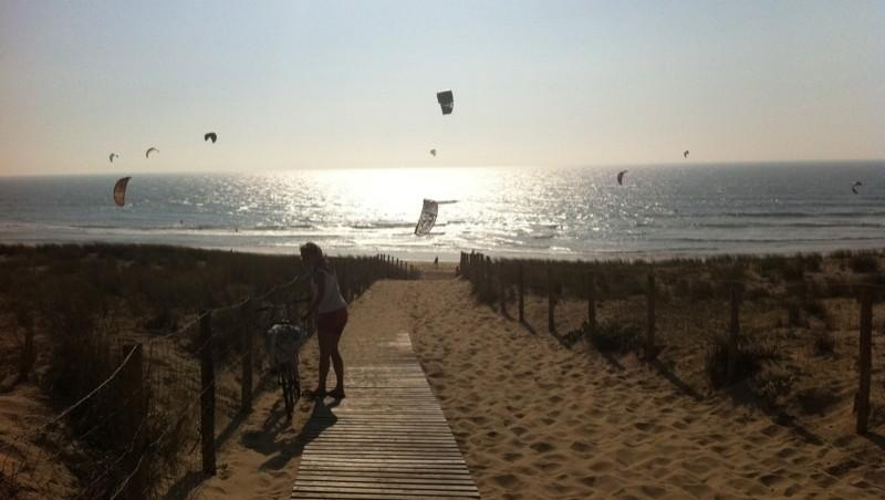 Wind report Le Grand Crohot - France (33) 2011-04-29 18:00:00