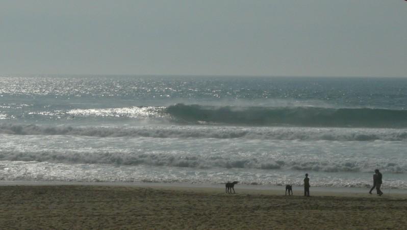 Surf report Mimizan - Plage Garluche - France (40) 2011-05-05 18:00:00