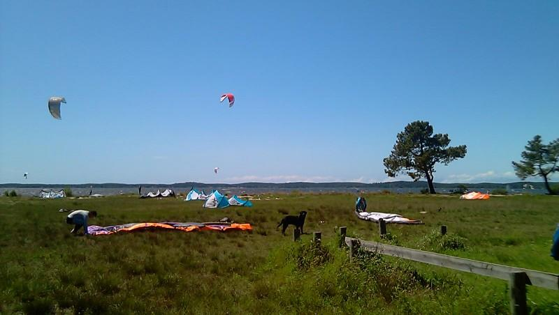 Wind report Lacanau Lac - France (33) 2011-05-08 14:00:00