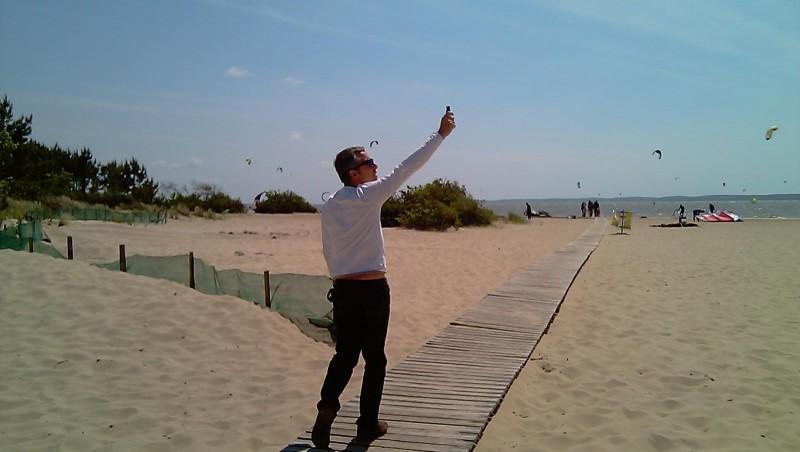 Wind report Hourtin port - France (33) 2011-05-14 15:00:00