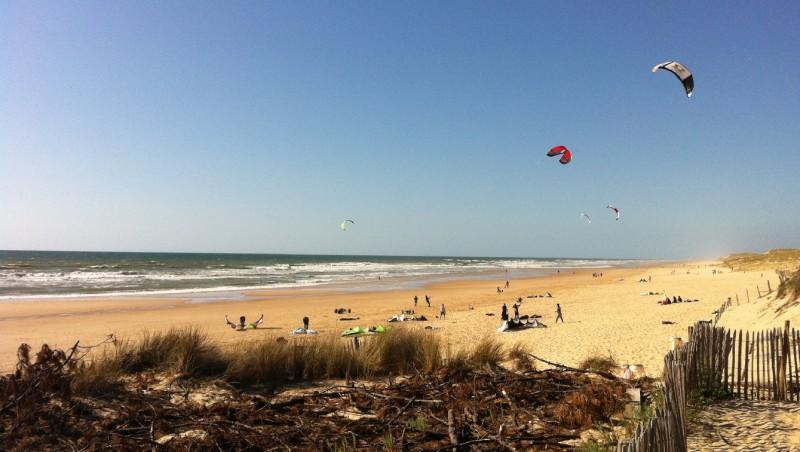 Wind report Lacanau Océan - La Nord - France (33) 2011-05-14 13:00:00