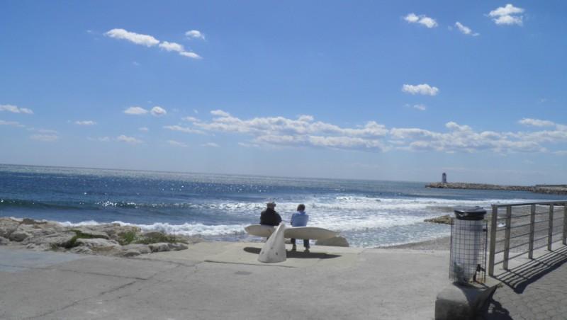 Surf report Sausset les Pins - Plage du Port - France (13) 2011-05-15 15:00:00