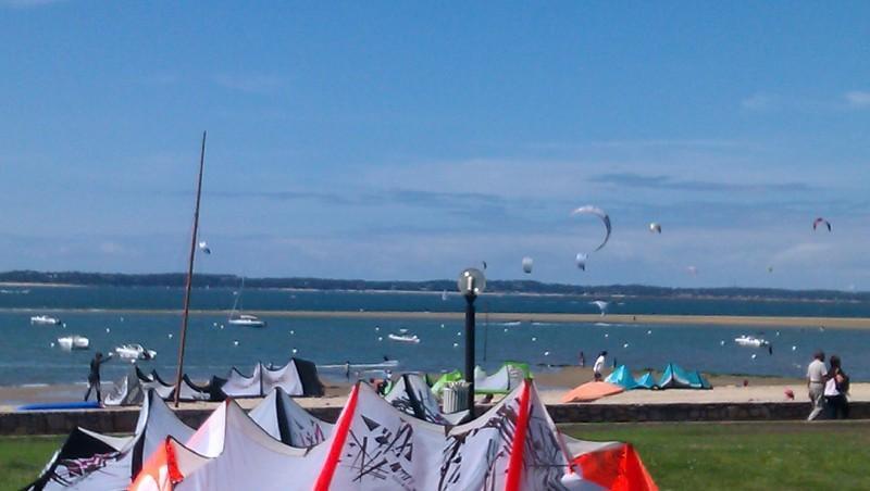 Wind report Arcachon - Les Arbousiers - France (33) 2011-05-22 15:00:00