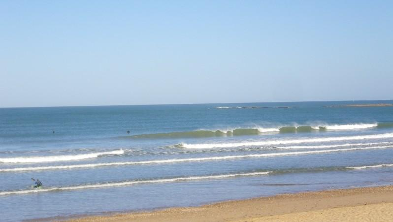 Surf report Plage des Dunes - France (85) 2011-05-25 09:00:00