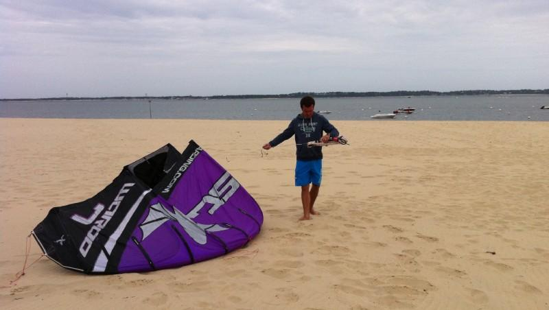 Wind report Arcachon - Les Arbousiers - France (33) 2011-06-02 11:00:00