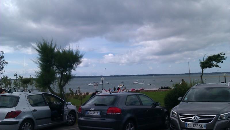 Wind report Arcachon - Les Arbousiers - France (33) 2011-06-07 14:00:00