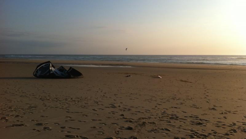 Wind report Biscarrosse Plage - France (40) 2011-06-14 19:00:00