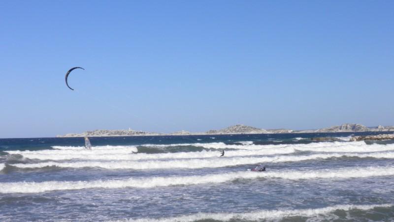 Surf report Le Prado - France (13) 2011-06-19 08:00:00