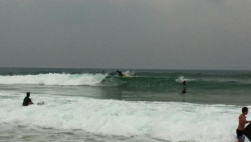 Surf report Le Grand Crohot - France (33) 2011-06-27 13:00:00