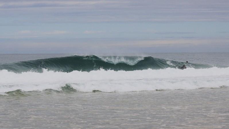 Surf report La Salie - France (33) 2011-07-10 11:00:00
