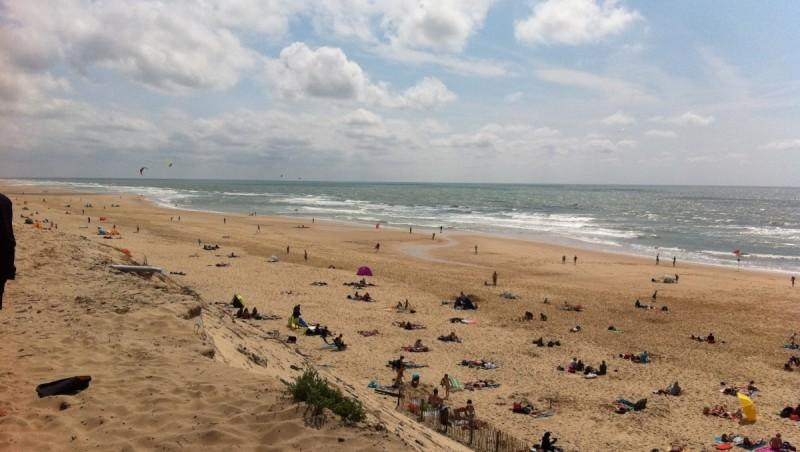 Wind report Hourtin Océan - Plage Sud - France (33) 2011-07-24 15:00:00