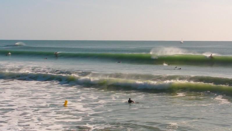 Surf report Les Sables-d'Olonne -  Le Tanchet - France (85) 2011-09-14 18:00:00