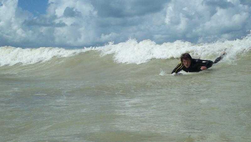 Surf report Pourville - France (76) 2011-08-27 14:00:00
