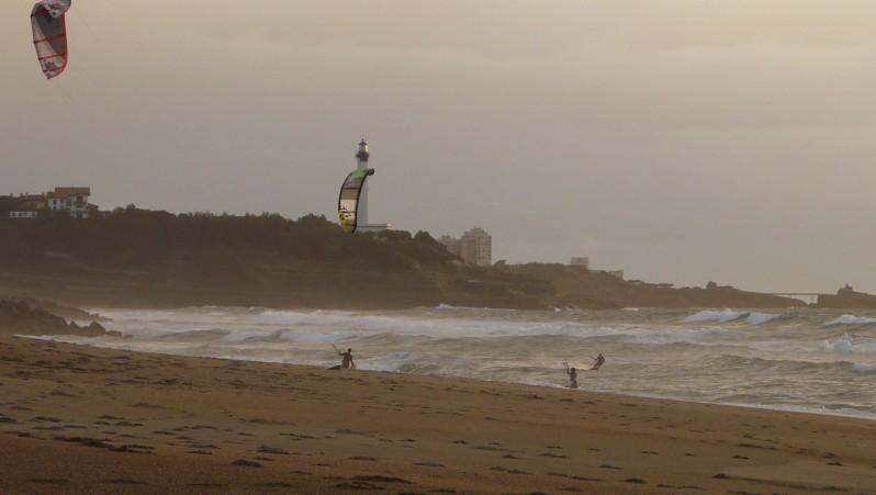 Wind report Anglet La Madrague - France (64) 2011-10-06 17:00:00