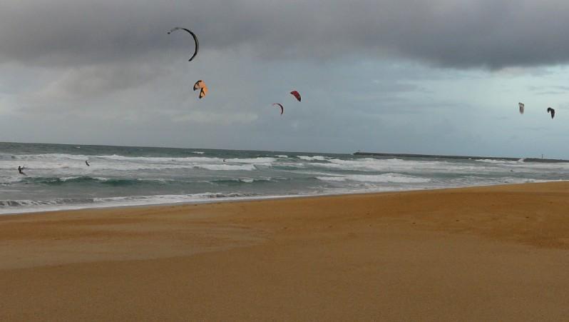 Wind report Anglet La Madrague - France (64) 2011-10-06 17:00:00