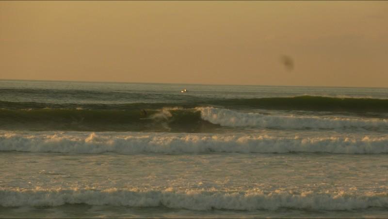 Surf report Cenitz - France (64) 2011-10-16 17:00:00