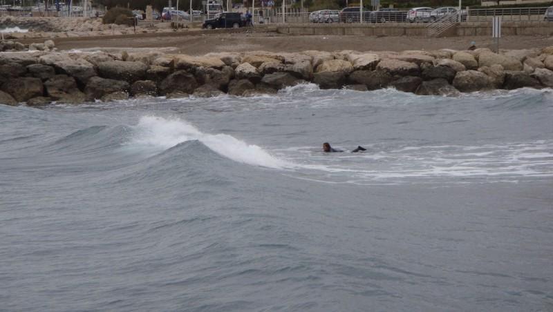 Surf report Sausset les Pins - Plage du Port - France (13) 2011-11-06 14:00:00