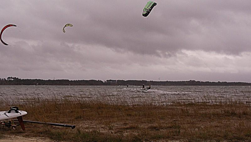 Wind report Les Aigrettes - France (40) 2011-12-03 16:00:00