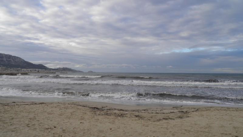 Surf report Le Prado - France (13) 2011-12-04 09:00:00
