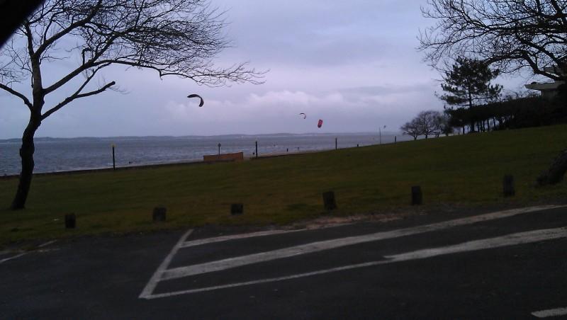 Wind report Arcachon - Les Arbousiers - France (33) 2011-12-30 10:00:00