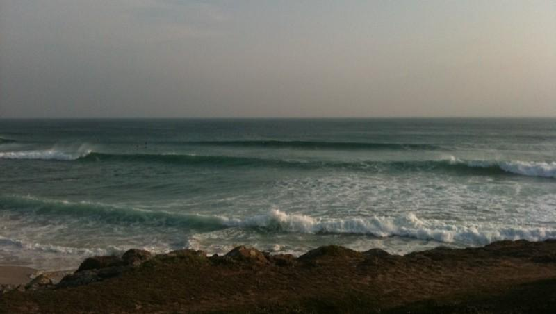 Surf report Saint Tugen - France (29) 2011-04-24 10:00:00