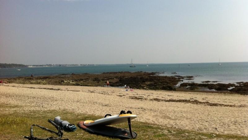 Surf report Cap-Coz - France (29) 2011-04-25 15:17:00