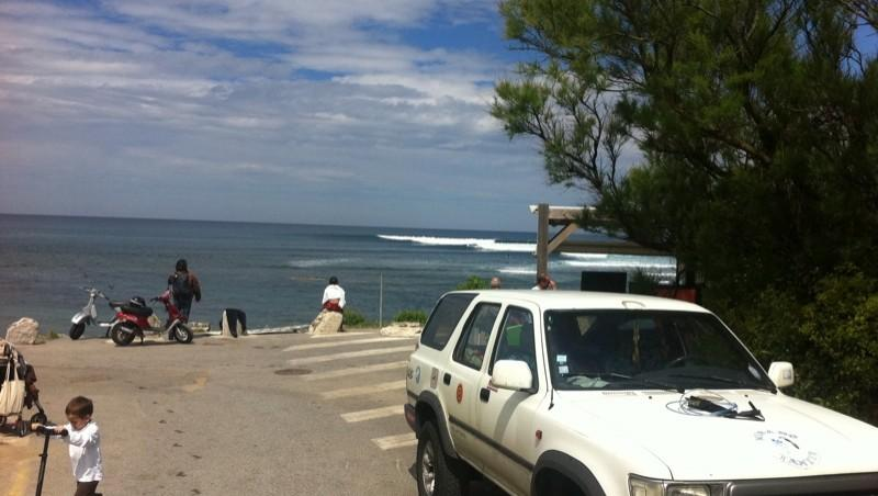 Surf report Guethary Parlementia - France (64) 2011-05-01 12:00:00