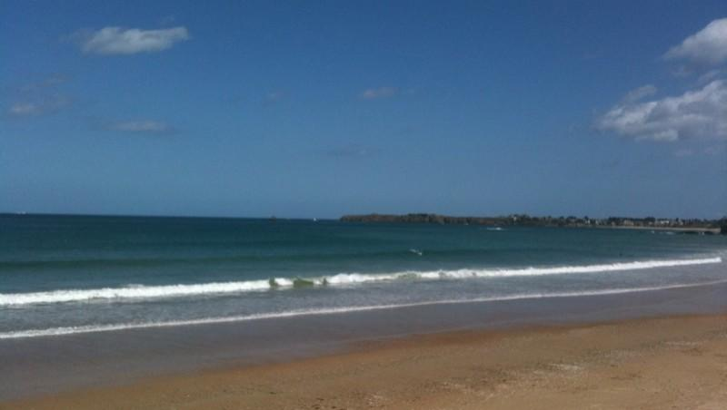 Surf report Saint-Malo - Le Sillon - France (35) 2011-05-09 13:00:00