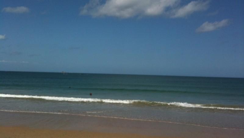 Surf report Saint-Malo - Le Sillon - France (35) 2011-05-09 13:00:00
