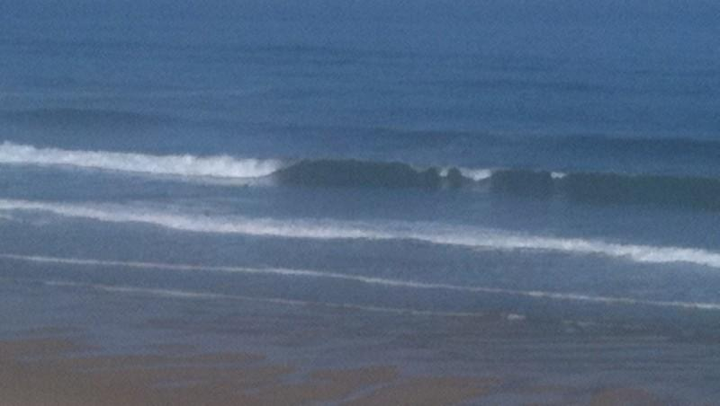 Surf report Mimizan - Plage Garluche - France (40) 2011-06-03 09:20:00