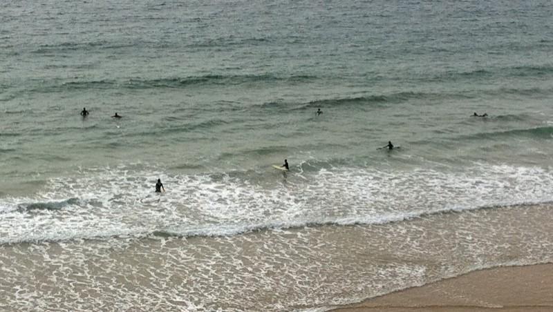 Surf report Quiberon - Port Blanc - France (56) 2011-06-11 18:00:00