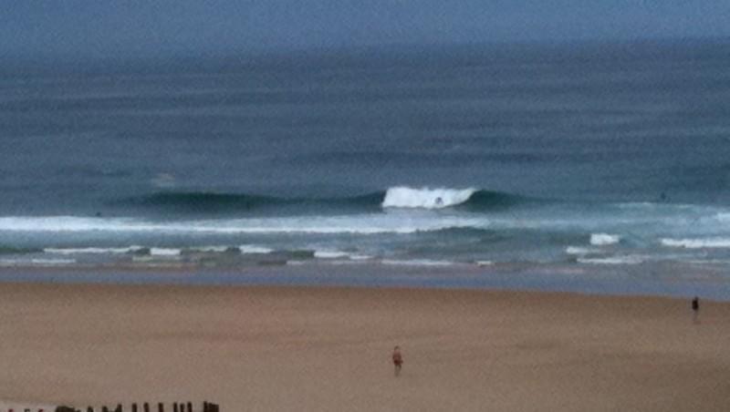 Surf report Mimizan - Plage Garluche - France (40) 2011-06-13 10:27:00