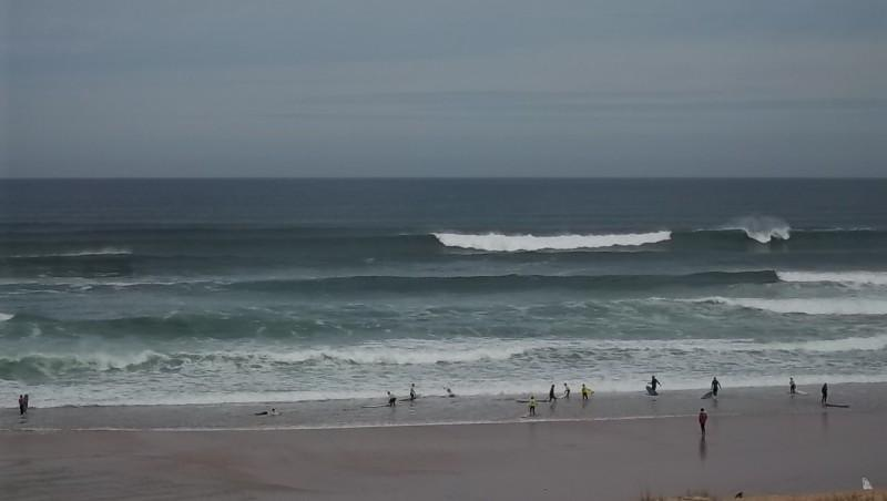 Surf report Lacanau Océan - La Nord - France (33) 2011-06-17 09:35:00