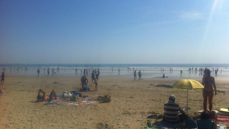 Surf report Sainte Barbe - France (56) 2011-06-26 17:48:00