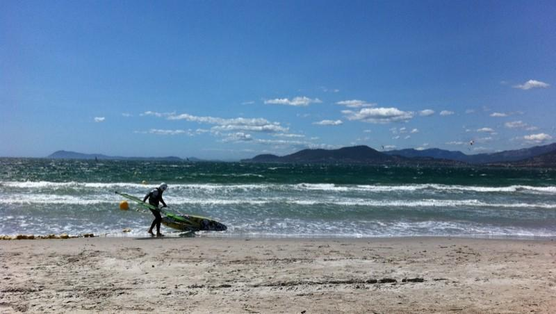 Surf report La Madrague - France (83) 2011-07-20 15:22:00
